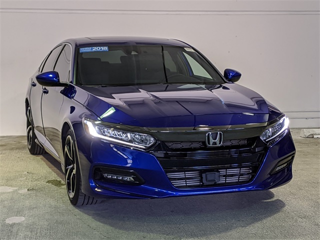 Certified Pre-Owned 2018 Honda Accord Sport 2.0T