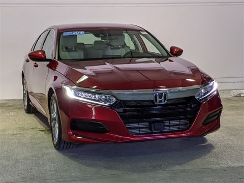 Certified Pre-Owned 2018 Honda Accord LX